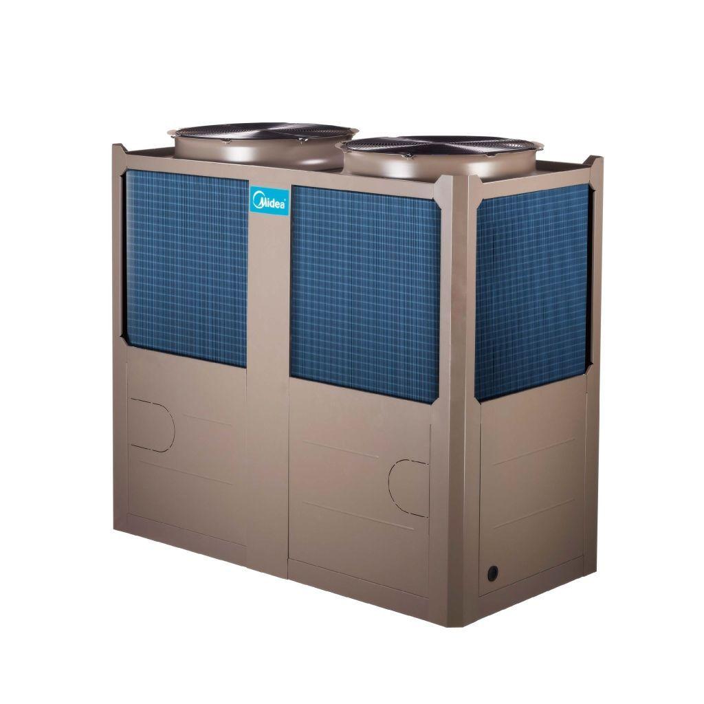新万博客户端y风冷热泵模块机组H型